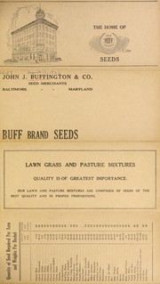 Cover of: Buff brand seeds | John J. Buffington & Co