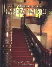 Cover of: Majesty of the Garden District (The Majesty Architecture Series) | Lee Malone