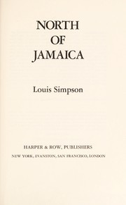 Cover of: North of Jamaica