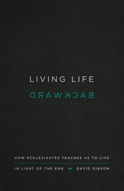 Cover of: Living life backward |
