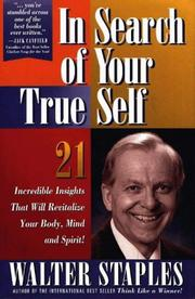Cover of: In search of your true self