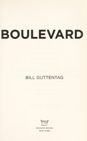 Cover of: Boulevard | William Guttentag