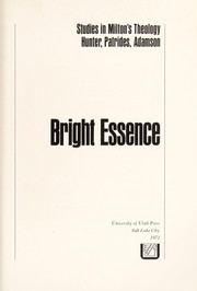 Cover of: Bright essence