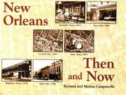 Cover of: New Orleans then and now