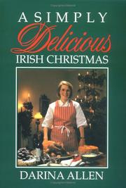 Cover of: A Simply Delicious Irish Christmas