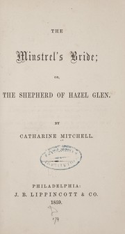 Cover of: The minstrel