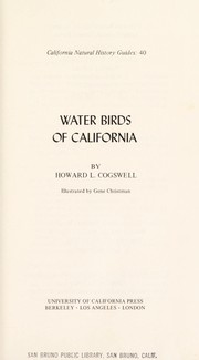 Cover of: Water birds of California