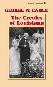 Cover of: The Creoles of Louisiana