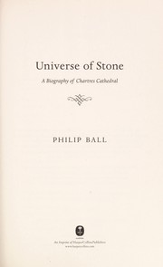 Cover of: Universe of Stone | Philip Ball