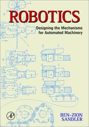 Cover of: Robotics | Ben Zion Sandler