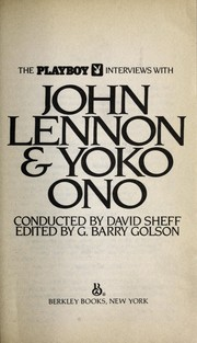 Cover of: Playboy Interviews with John Lennon & Yoko Ono