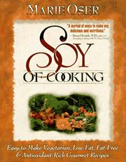 Cover of: Soy of cooking
