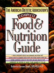 Cover of: The American Dietetic Association's Complete Food and Nutrition Guide
