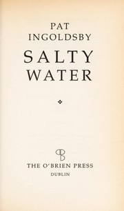 Cover of: Salty water