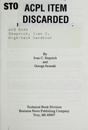 Cover of: High-tech handbook | Ivan C. Stepnich