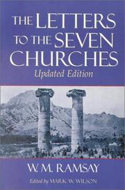 Cover of: The letters to the seven churches