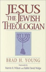 Cover of: Jesus the Jewish theologian