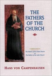 Cover of: The fathers of the church
