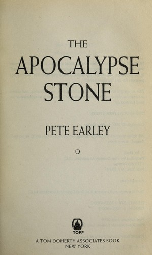 The apocalypse stone by Pete Earley