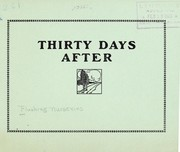 Cover of: Thirty days after | Flushing Nurseries, Inc
