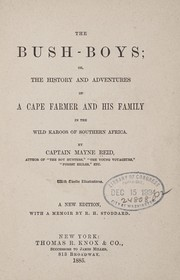 Cover of: The bush-boys