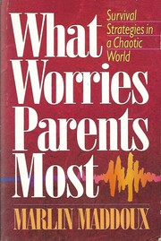 Cover of: What worries parents most