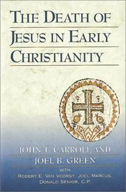 Cover of: The death of Jesus in early Christianity