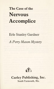 Cover of: The case of the nervous accomplice: romany