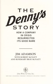 Cover of: The Denny
