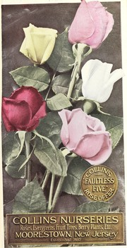Cover of: Collins 1926 planting guide | Pleasant Valley Nurseries