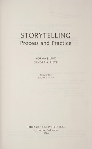 Storytelling : process and practice by