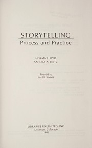 Cover of: Storytelling : process and practice |