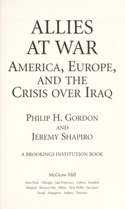 Cover of: Allies at war | Phillip H. Gordon