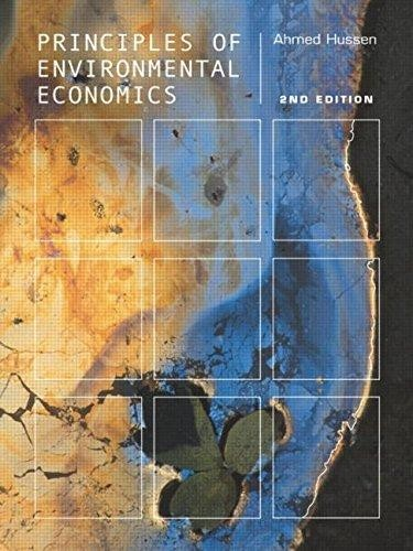 Principles of environmental economics. (2004 edition ...
