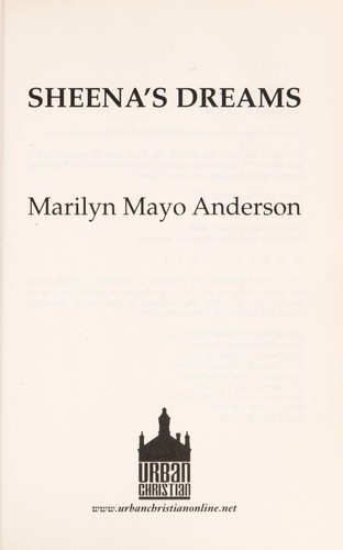Sheena's dreams by Marilyn Mayo Anderson