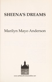 Cover of: Sheena's dreams | Marilyn Mayo Anderson