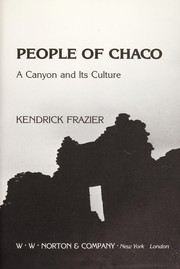 Cover of: People of Chaco | Kendrick Frazier