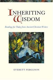 Cover of: Inheriting wisdom