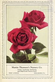 Martin Thomsens Nursery Co. [catalog]