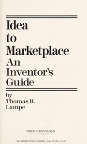 Cover of: Idea to marketplace : an inventor's guide |