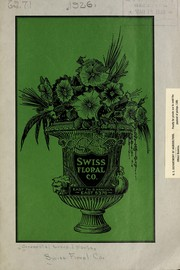 Cover of: Swiss Floral Co. [catalog]