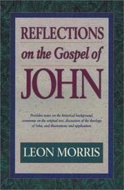 Cover of: Reflections on the Gospel of John