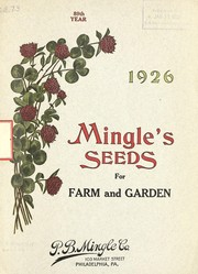 Cover of: 1926 Mingle