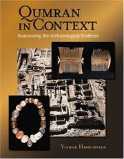 Cover of: Qumran In Context