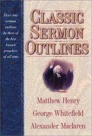 Cover of: Classic Sermon Outlines