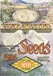 Cover of: Portland Seed Company's Catalog and seed annual for 1926