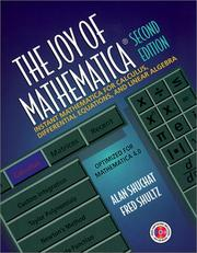 Cover of: The joy of Mathematica