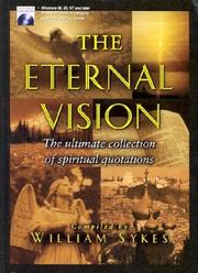 Cover of: Eternal Vision (Stories for Teachers and Preachers) | William Sykes
