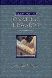 Cover of: Sermons Of Jonathan Edwards | Jonathan Edwards