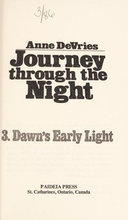 Cover of: Dawn's early light